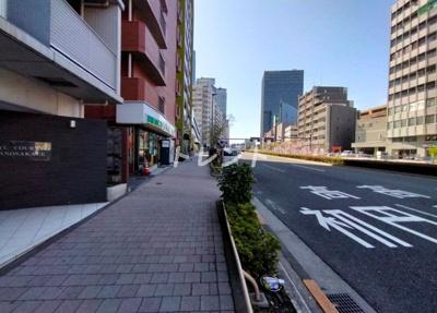 【居間・リビング】アジールコート中野坂上