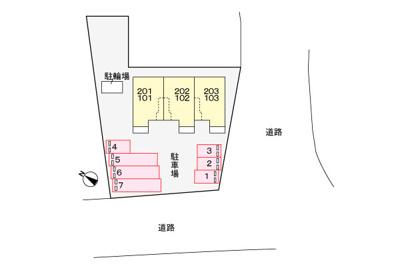 【区画図】メゾンドペシェ