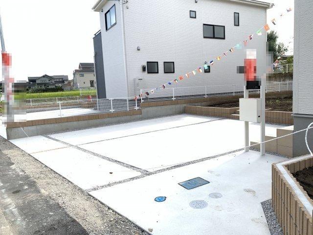 駐車場も整備されているので駐車もラクラクです。