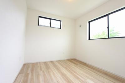 きれいな洋室です:建物完成しました♪毎週末オープンハウス開催♪八潮新築ナビで検索♪