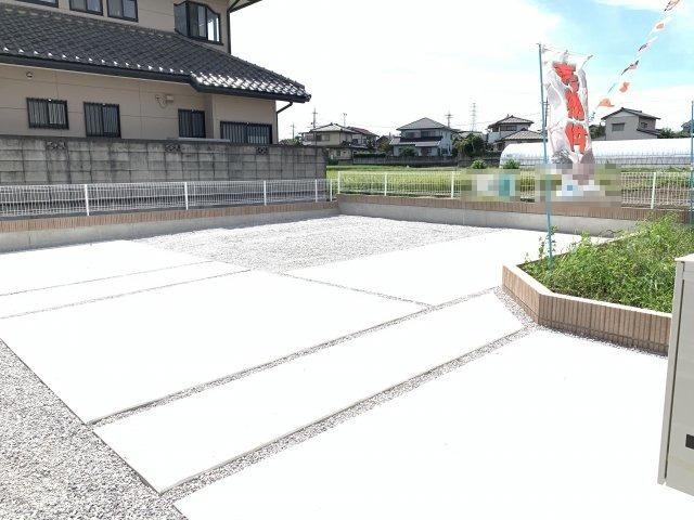 駐車場も整備されているので駐車もラクラクですよ。