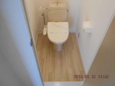 【トイレ】ポルシェ上矢部A棟