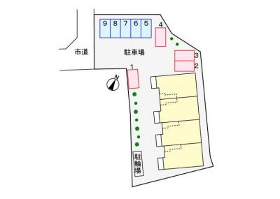【区画図】フランブリーズⅢ