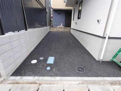 駐車場です 吉川新築ナビで検索