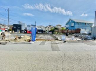 【前面道路含む現地写真】新築 本村3丁目 B棟 3,830万円