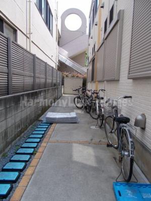 CFハイツ和田の駐輪スペース