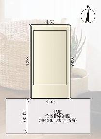 【区画図】北区滝野川4丁目 新築戸建