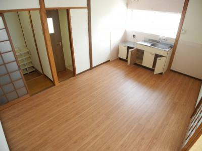 【居間・リビング】深堀アパート