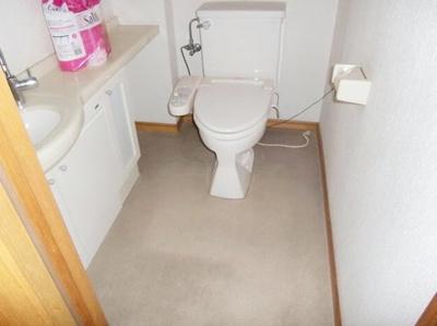 トイレ2ヵ所付き