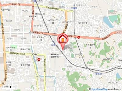 【地図】グランディールN