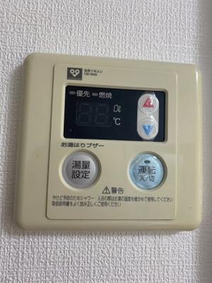 温度調節機能付きです
