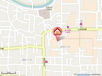 【地図】グランシード星岡A・B・