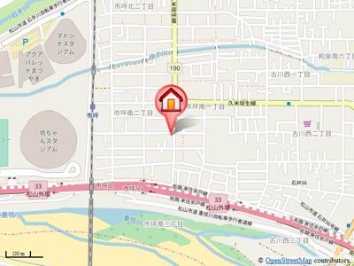 【地図】バリュージュ市坪・
