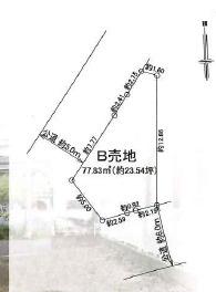 【土地図】茅ヶ崎市西久保 売地B