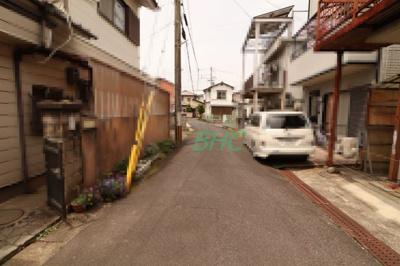 【前面道路含む現地写真】大萱6丁目