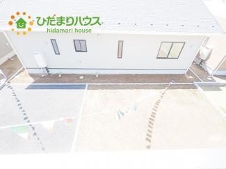雨の日も安全なインナーバルコニー☆安心してお出かけできますね(^_-)-☆