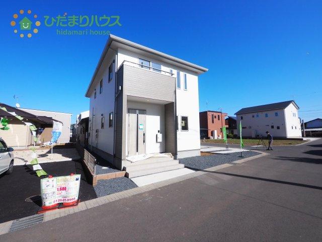 【外観】B-H土浦市板谷2期 新築戸建