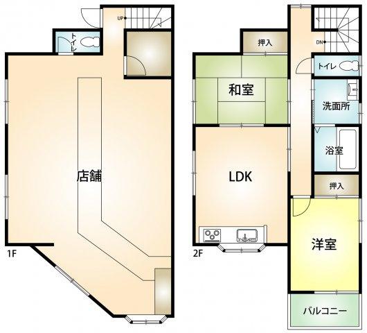 神戸市西区枝吉4丁目 店舗付き住宅の画像