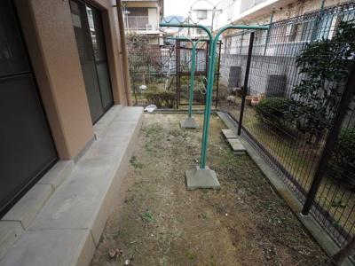 【バルコニー】ガーデン北青木