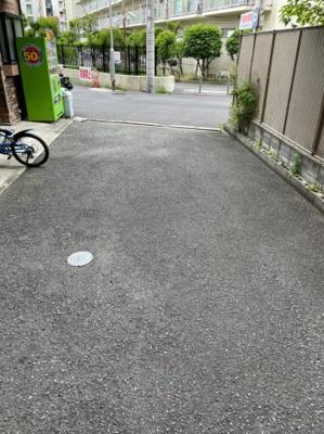 【前面道路含む現地写真】大阪市北区本庄東2丁目 中古戸建