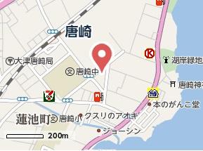 【地図】開花えれがんす
