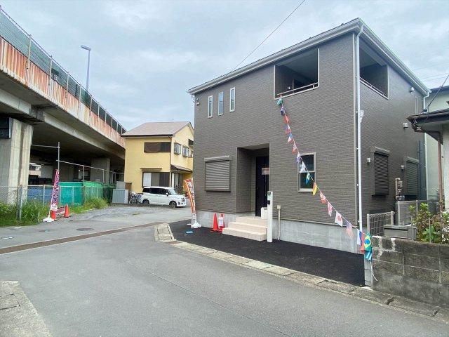 【前面道路含む現地写真】新築一戸建て「小田原市飯泉第21」全1棟