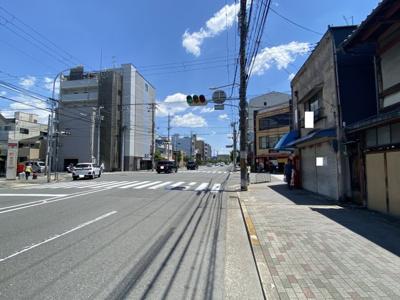【前面道路含む現地写真】京都市下京区西七条南月読町