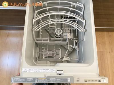 後片付けの手間が省ける食洗器付き♪ 主婦の皆様からとても助かる!と好評のお声をいただいております♪
