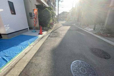 【前面道路含む現地写真】堺市中区土師町 新築戸建