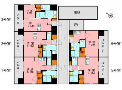【その他共用部分】仮)LANDIC美野島3丁目