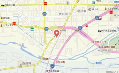 【地図】ピアハウスかまたA棟
