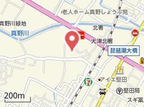 【地図】グリーンハイツ堅田