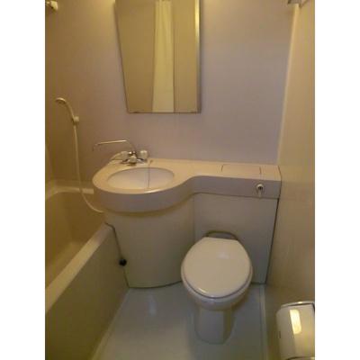 【浴室】新清洲クラウンビル