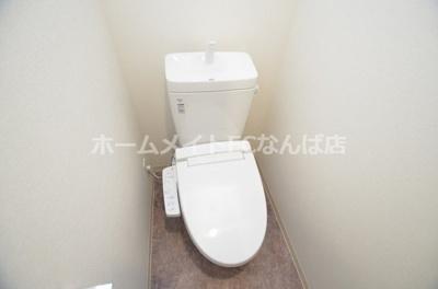 【トイレ】プレサンス松屋町ヴェルデス