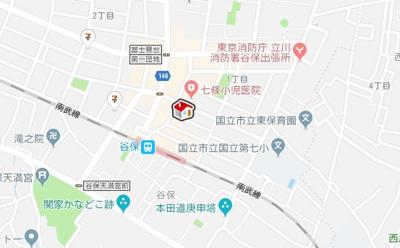 【地図】レオネクスト岩澤(51601-104)