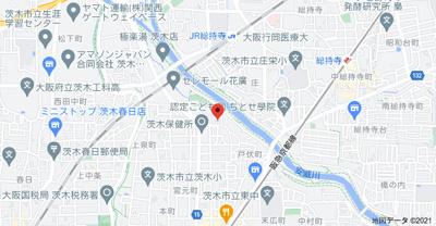 【地図】メイプルヴィラ茨木I