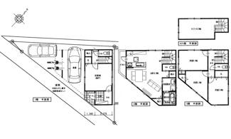 新築プラン・建坪35坪・4LDK+ロフト・オール電化仕様・3580万円です