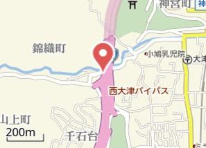 【地図】白崎ハイツ