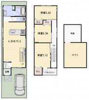伏見区桃山町西尾 新築戸建の画像