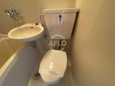 クレアール天満橋 トイレ
