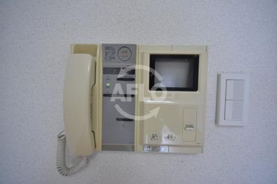 エスティライフ梅田新道 TV付モニターフォン