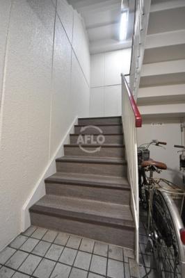 末広ビル 階段