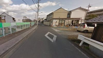 【前面道路含む現地写真】高知市鏡川町