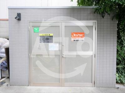 インベスト北梅田 ごみ置場
