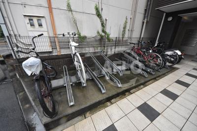 サンクチュアリ北梅田 駐輪場
