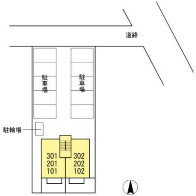 【区画図】メゾン榎田