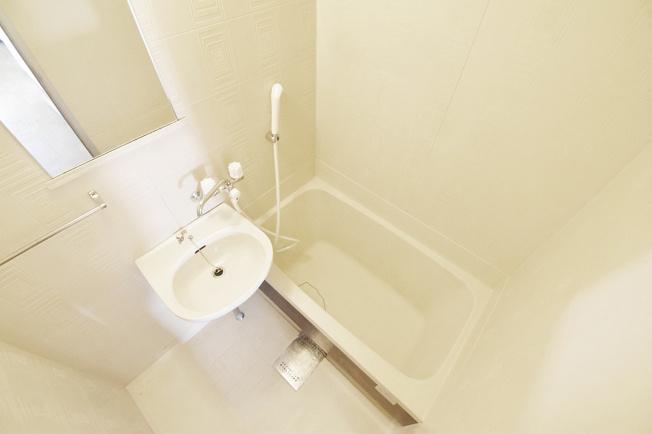 リラックスできるバスルーム。