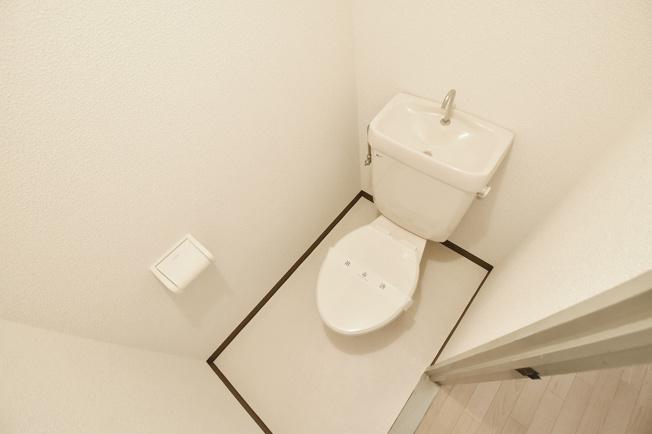 トイレもキレイですね。
