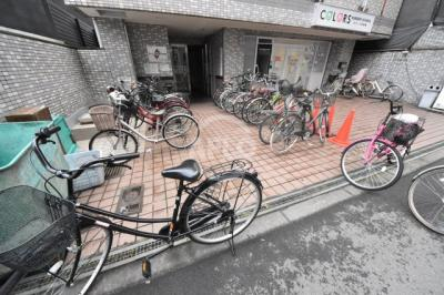 エグゼコート天六 駐輪場