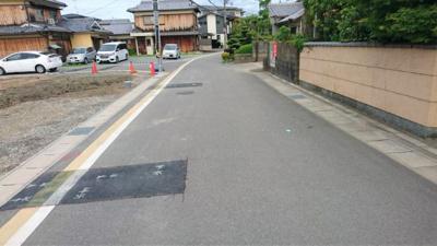 前井道含む現地(令和3年5月撮影)